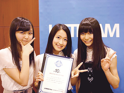 東京女子流 TGS UST.TV
