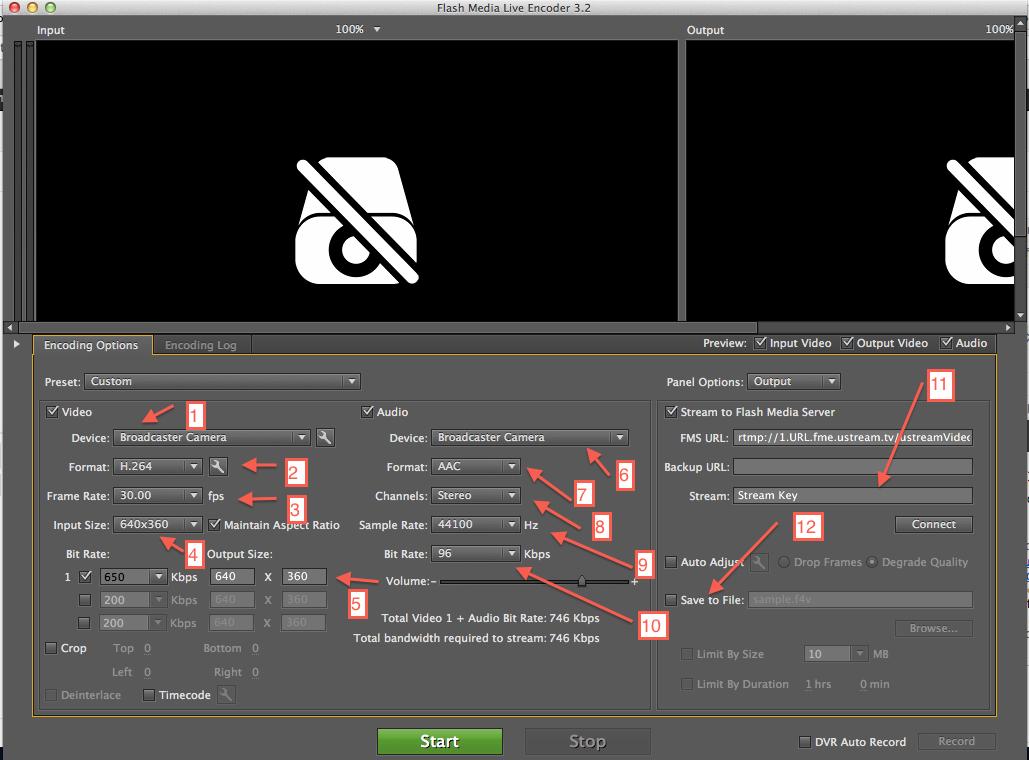 Adobe Flash Media Liveエンコー...