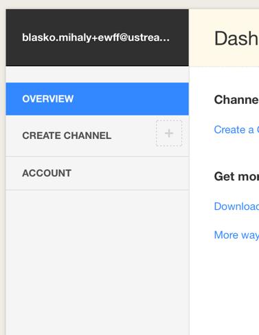 Dashboard Channel Selector – IBM Watson Media