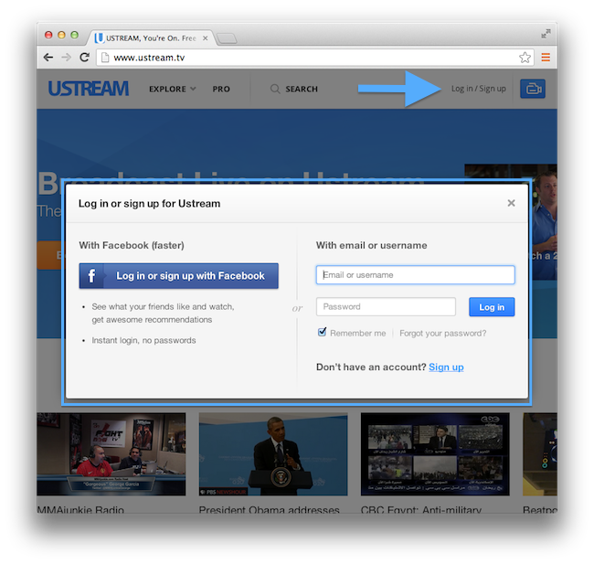 Ustream Wordpress Plugin